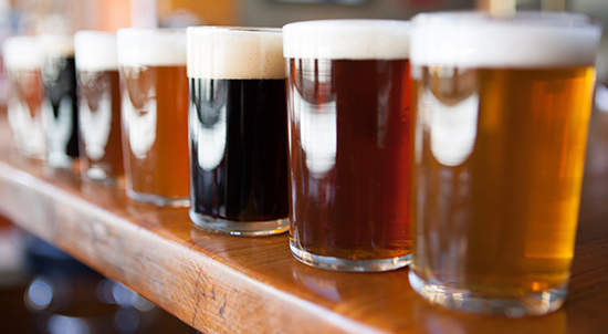 San Diego Brewery Tour in Private Town Car